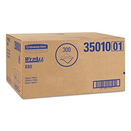 kcc35010 – Kimberly Clark WYPALL X60 Teri toallas de profesional de, soporte de hoja,