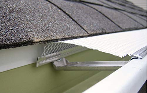 5'' Small Hole Speed Screen Gutter Guard/Gutter Protection/Leaf Protection (200ft/box) by Lynch Aluminum (Image #4)