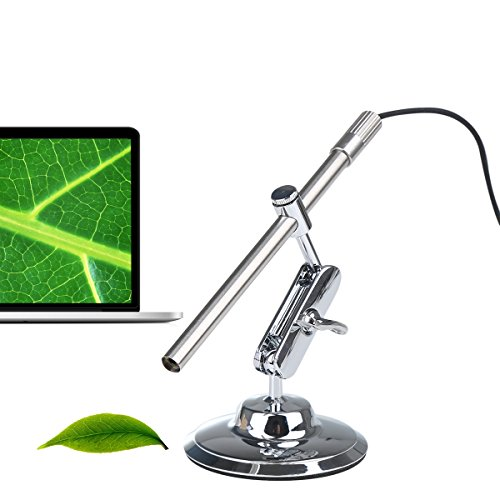 Digital Portable Android USB Microscope Otoscope Endoscope Inspection Camera with 10-200X Magnifier for Kids,...