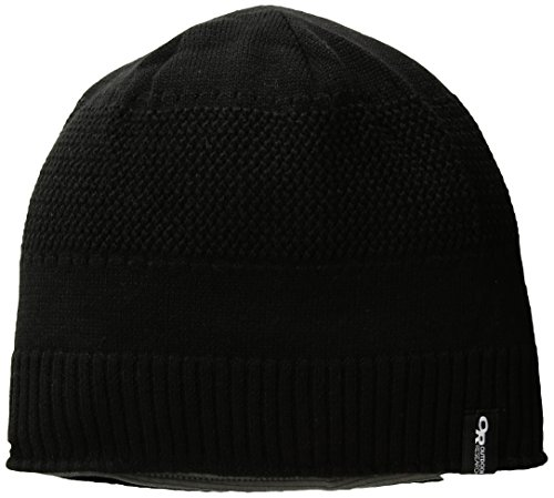 Outdoor Research Kinetic Beanie, Black/Pewter, 1size