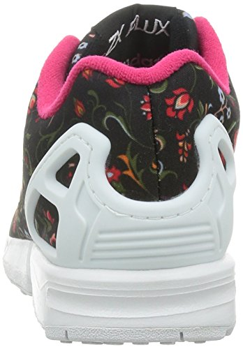 Berry mode Noir femme Black Core Vivid Ftwr White adidas Baskets Flux Zx Originals S14 4Y1qvvpR