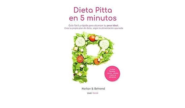 Plan de dieta de eliminación de pérdida de peso