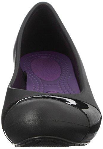 Femme Escarpins Noir Pour noir Crocs xqYwC6vUvn