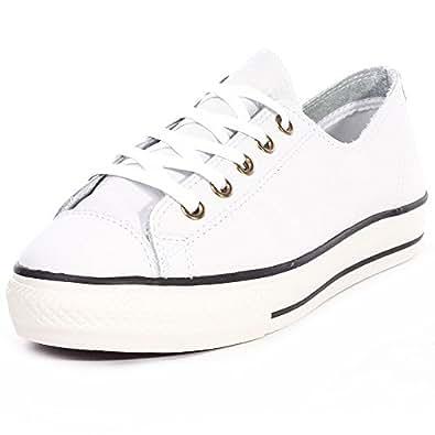 Calzado deportivo para mujer, color Blanco , marca CONVERSE, modelo Calzado Deportivo Para Mujer CONVERSE CTAS HIGH LINE OX Blanco: Amazon.es: Zapatos y ...