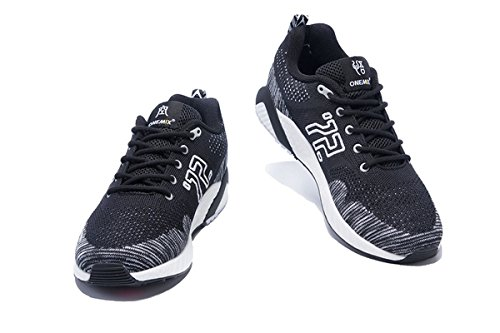 Running Mens Black Outdoor Breathable Onemix Sport White Mesh Shoes xXRCgfdq