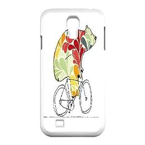 LSQDIY(R) bear SamSung Galaxy S4 I9500 Cover Case, DIY SamSung Galaxy S4 I9500 Case bear