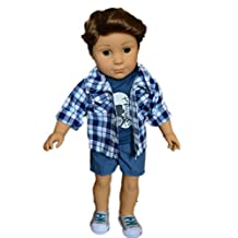 My Brittany's Band Outfit for American Girl Boy Dolls- Doll Clothes for American Girl Boy Dolls Like Logan