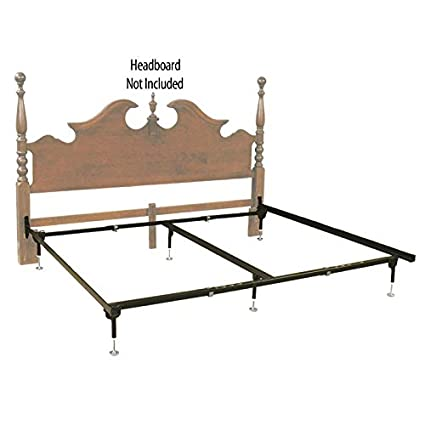 Amazon.com: Hospitality Bed Hook-On Headboard Only Bed Frame - Queen ...