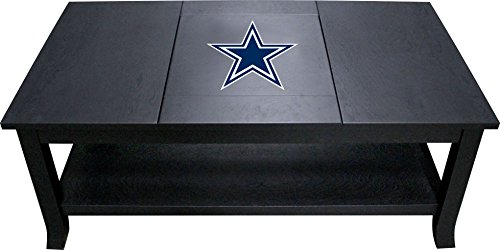 Dallas Cowboys Furniture - Imperial Officially Licensed NFL Furniture: Hardwood Coffee Table, Dallas Cowboys