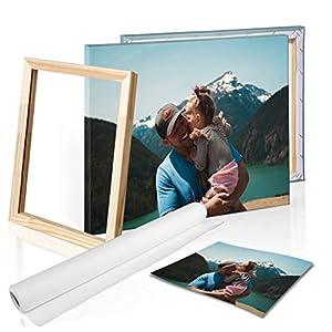 DON LETRA Cuadro en Lienzo Personalizado con Foto o Imagen, Impresión en Lienzo sobre Bastidor, Cuadros de Fotos para Salón o Dormitorio 10