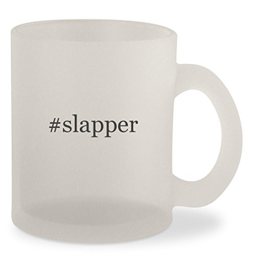Price comparison product image #slapper - Hashtag Frosted 10oz Glass Coffee Cup Mug