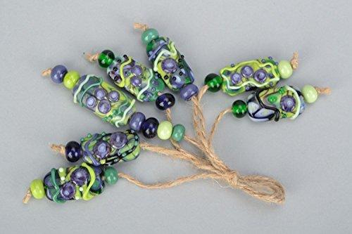 Set Of Lampwork Beads