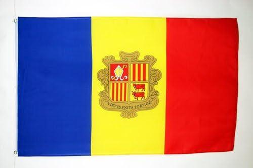 AZ FLAG Bandera de Andorra 90x60cm - Bandera ANDORRANA 60 x 90 cm ...