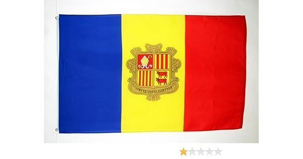 AZ FLAG Bandera de Andorra 150x90cm - Bandera ANDORRANA 90 x 150 ...