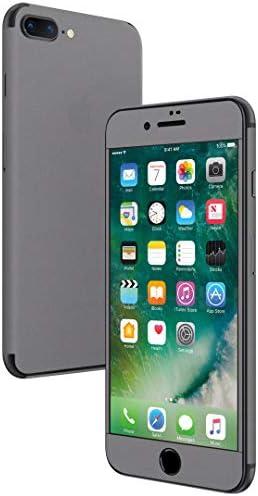 igsticker iPhone SE 2020 iPhone8 iPhone7 専用 スキンシール 全面スキンシール フル 背面 側面 正面 液晶 ステッカー 保護シール 009014 その他 シンプル 無地 グレー