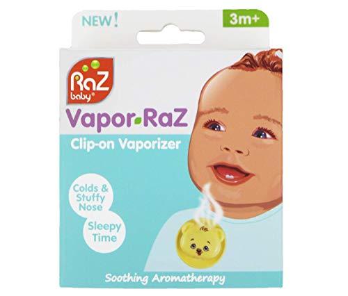 Amazon.com: RazBaby vapor-raz Aromaterapia Clip con mentol ...