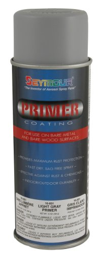 Seymour 16-831 Primer, Light Gray - Gray Acrylic Lacquer