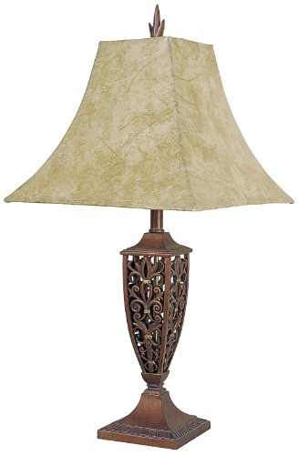 - ORE International 8028G 30-Inch Table Lamp, Bronze Finish