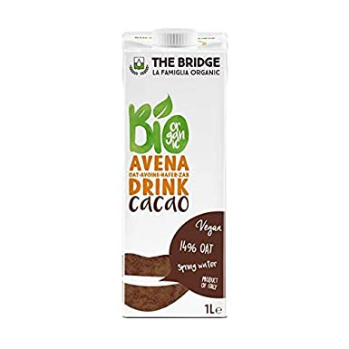 Bebida de avena con cacao The Bridge 1L: Amazon.es ...