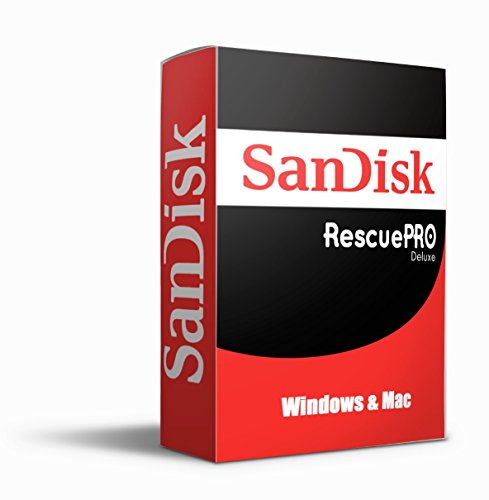Price comparison product image Sandisk Rescue Pro Deluxe | RescuePro Deluxe | 1 Year Subscription | Digital Key