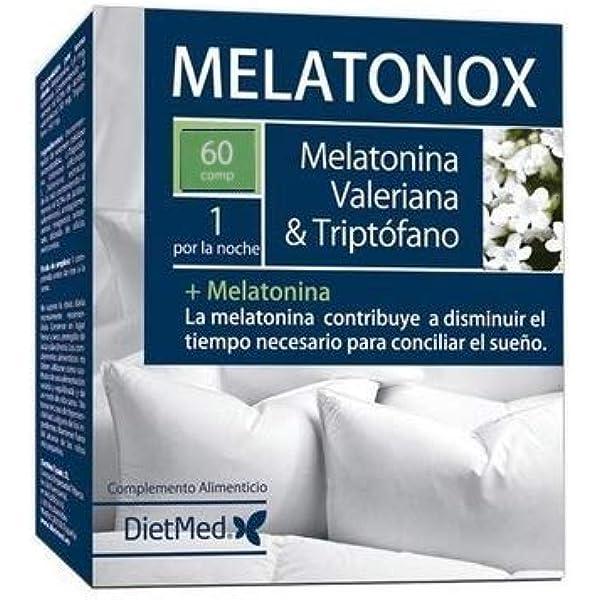 Natural Triptófano con Melatonina y Espirulina | 70 ...