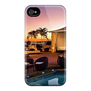 Perfect Fit FweEgXp256NvcKG Paradise Spa Landscape Case For Iphone - 4/4s