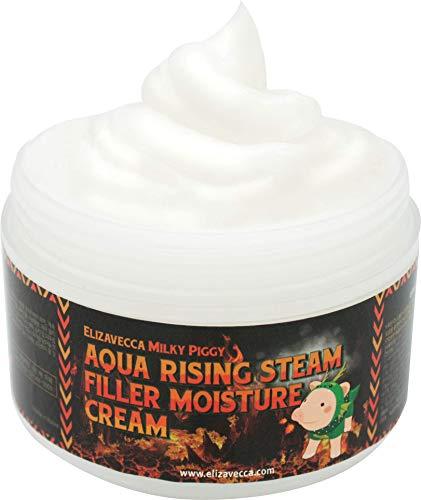 Elizavecca Aqua Rising Argan Gelato Steam Cream 100 Gram - Argan Oil &  Hyaluronic Acid