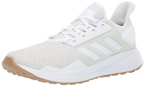 adidas Women's Duramo 9 Running Shoe, raw White, 5.5 M US