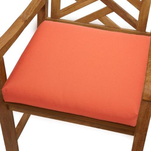 Mozaic AZCS2994 Sunbrella  Indoor/Outdoor Bristol Chair Cushion Square Seat Cushion (Set of 2), 20