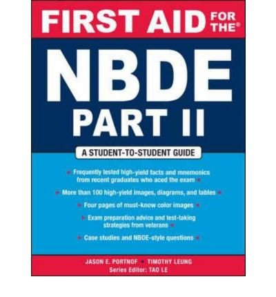 First Aid for the NBDE: Pt. 2 (First Aid) (Paperback) - Common