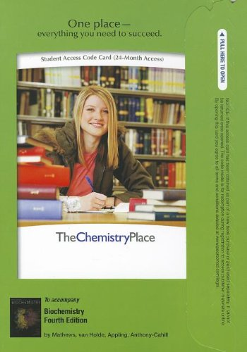 Premium Website for Biochemistry (4th Edition) (ChemistryPlace (Access Codes))