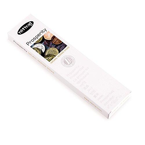(Nitiraj Premium PROSPERITY Natural Incense Sticks 25 grams)
