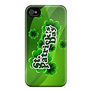 Bumper Cell-phone Hard Covers For Iphone 4/4s (ack2661DLCX) Customized High-definition Green Day Image