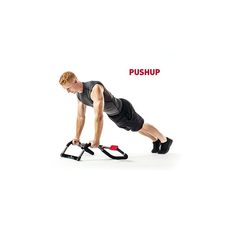 Perfect Fitness Multi Gym Doorway Pull Up Bar Portable Gym System