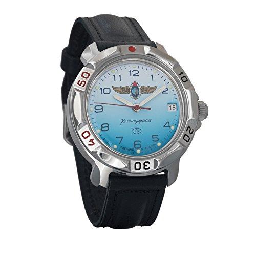 Vostok Komandirskie Commander Russian Army Mens Mechanical Military Wrist Watch #811958