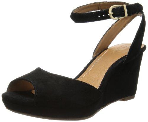Clarks - Sandalias de vestir de Piel para mujer negro negro