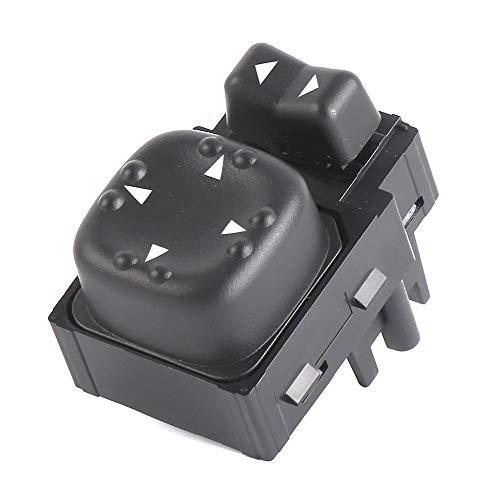 Power Mirror Switch 901124 for Chevy Silverado GMC Sierra 2000 2001 2002 Mirror Switch 15045085 (Truck Power Mirror Switch)