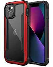 Raptic Shield Case Compatible with iPhone 13 Models Case, Shock Absorbing Protection, Durable Aluminum Frame, 10ft Drop Tested, Fits iPhone 13 Models