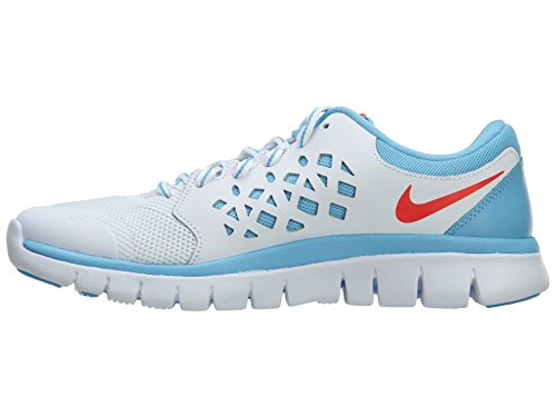 Nike 100 Flex Laufschuhe GS crimson weiss Damen 2015 5 white lakeside Run bright 37 724992 qaqwZFr