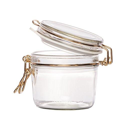 Bielmeier 010710 Einmachglas/Drahtbügelglas/Set 6 Stück/400 ml ...