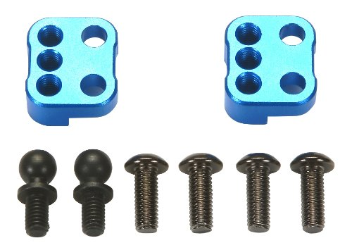 Tamiya #54405 Rc Adapters - For TRF201 Aluminum (Tamiya Hop Ups)