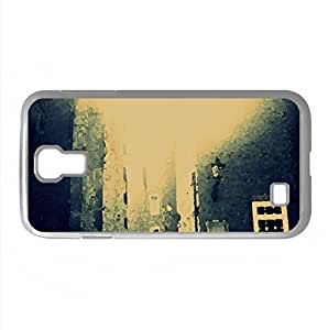 Dusseldorf Street Watercolor style Cover Samsung Galaxy S4 I9500 Case