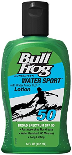 BullFrog Water Sport SPF 50 Sunscreen Lotion 5 - Surf Sun Ski