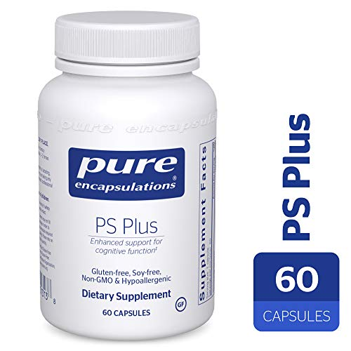 Pure Encapsulations – PS Plus – Hypoallergenic Formula for Memory, Mental Processing and Overall Cognitive Function* – 60 Capsules