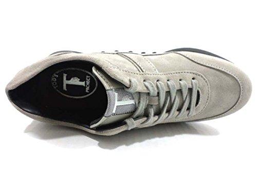 TOD'S AZ568 sneakers donna 34 EU camoscio grigio chiaro