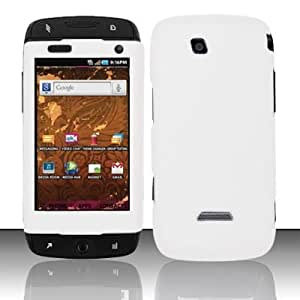 WHITE Hard Plastic Matte Case for Samsung Sidekick 4G (T-Mobile) [In Twisted Tech Retail Packaging]