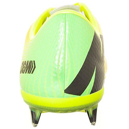 Nike 555605-380 - Zapatillas de fútbol, color verde, talla 40 VIBRANT YELLOW/BLACK-NEO LIME