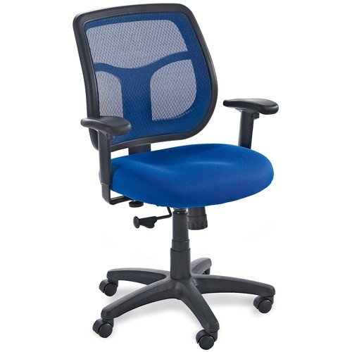 Eurotech Task Chair - Eurotech Mesh Back Mid-Back Task Chair - MT9400 Blue