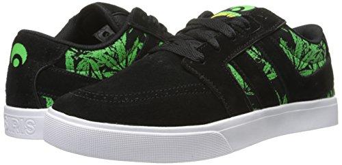 OSIRIS Skateboard Shoes LUMIN BLACK/CREATURE Size 10
