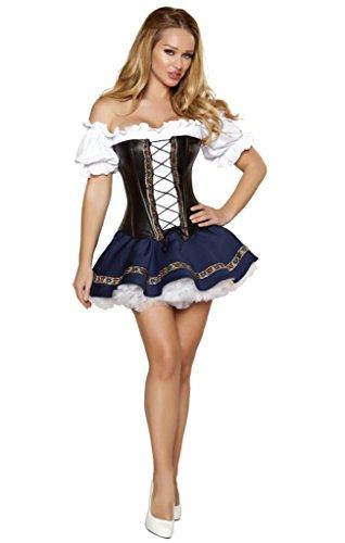 Sexy Oktoberfest Beer Girl Halloween Costume ()